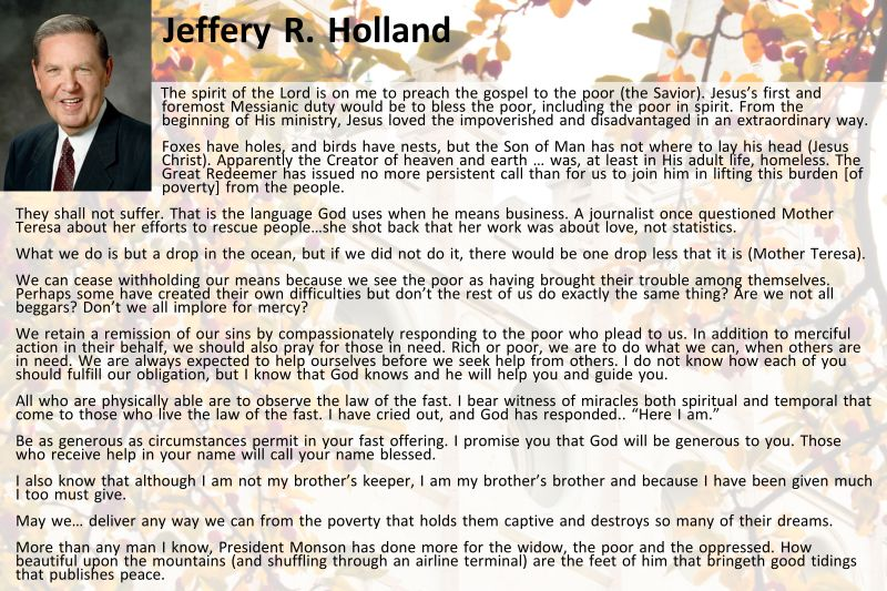 Jeffery R. Holland 10.14