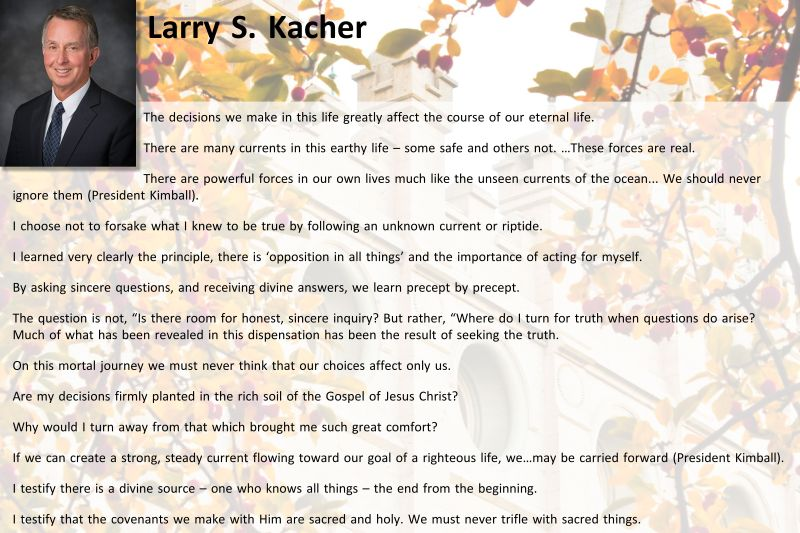 Larry S. Kacher 10.14